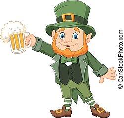 Cartoon St Patrick's Day