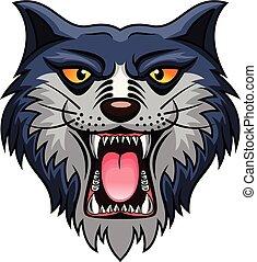 cat head cartoon
