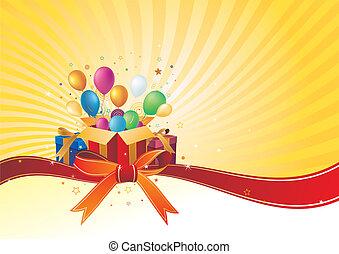 vector illustration of celebration