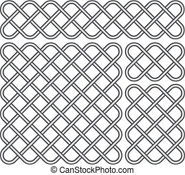 Celtic knots - Vector illustration of Celtic knots