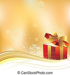 vector illustration of christmas gi