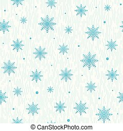 Vector illustration of christmas seamless pattern with snowflake