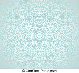 Vector illustration of Christmas snowflake
