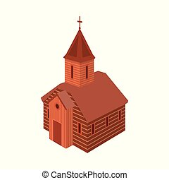Vector illustration of church and orthodox icon. Set of church and chapel vector icon for stock.