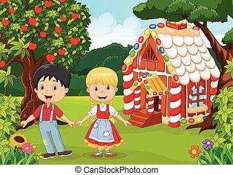 Classic children story. - Vector illustration of Classic ...