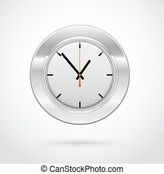 Vector illustration of clock icon for Your successful business design or presentation