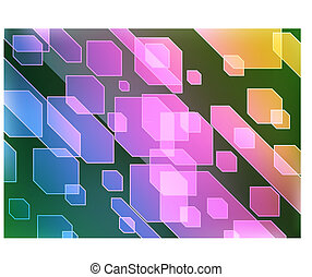 abstract background - Vector illustration of color abstract...