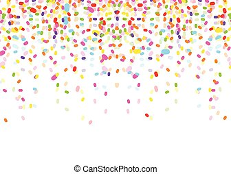 colorful confetti vector clipart royalty free 18 457 colorful rh canstockphoto com free confetti clipart free confetti clipart