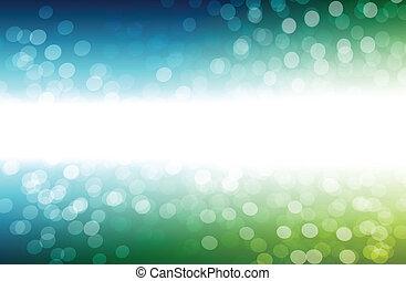 Vibrant Bokeh Background