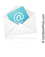 Concept representing email - vector illustration of Concept...
