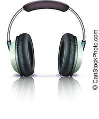 headphones icon - Vector illustration of cool headphones...