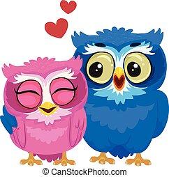 Couple Owl