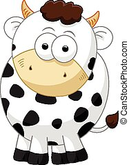 cow cartoon character