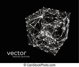 Vector illustration of cube
