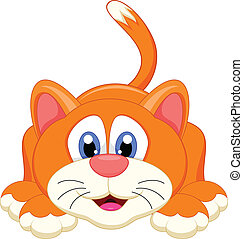 cute cat cartoon character