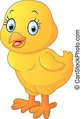 Cute chicken cartoon