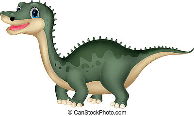 Cute dinosaur cartoon