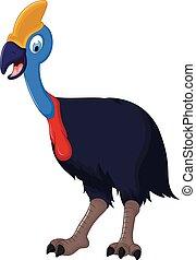 cute peacock cartoon