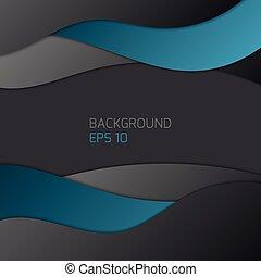 Vector illustration of dark background