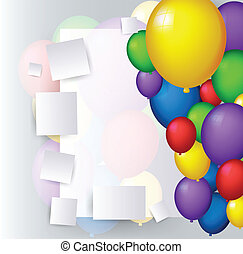 decoration with balloons