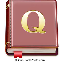 book icon - Vector illustration of detailed book icon ...