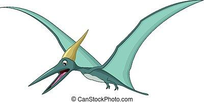 vector illustration of dinosaur cartoon for you design