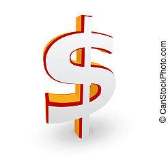 Dollar symbol - Vector illustration of Dollar symbol...