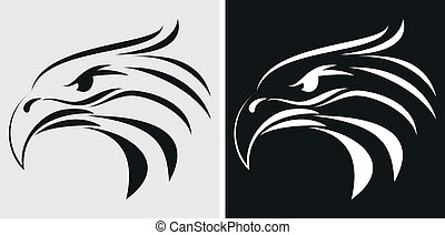 Eagle mascot or symbol - Vector Illustration of Eagle mascot...