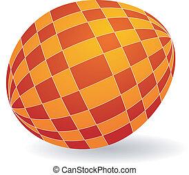 Vector illustration of Easter egg