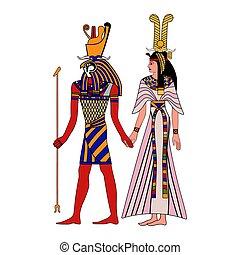 Egyptian national drawing.