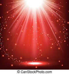 Elegant lights shining - Vector Illustration Of Elegant...