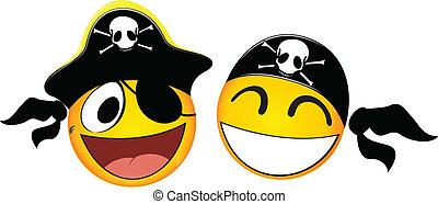Emoticons Pirate