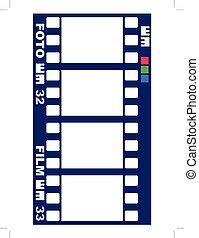 empty film frames