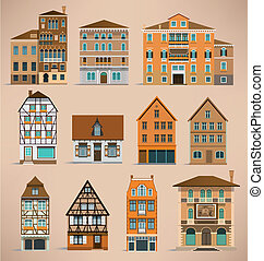 European houses