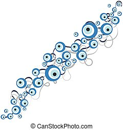 Vector illustration of evil eye - vector illustration of...