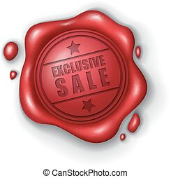 Exclusive sale wax seal stamp realistic