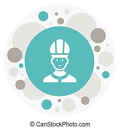 Vector Illustration Of Faith Symbol On Catholic Priest Icon. Premium Quality Isolated Christian Element In Trendy Flat Style.