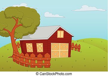 Farm House Illustrations And Stock Art 9936