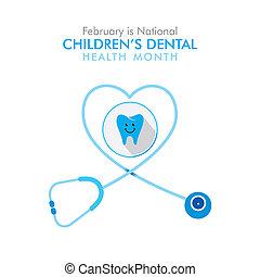 februray is national children dental health month