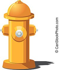 fire hydrant - Vector illustration of fire hydrant. Can be...
