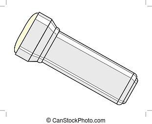 flashlight, light equipment