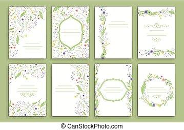 Floral Brochure Design Templates