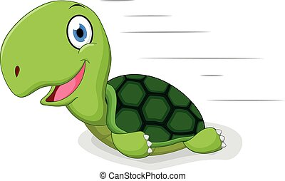 Fun turtle cartoon