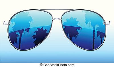 funky sunglasses - Vector illustration of funky sunglasses ...