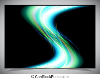 abstract glowing background