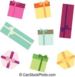 Vector illustration of gift box.