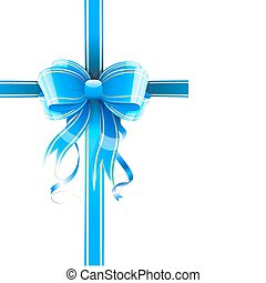 gift wrapped - Vector illustration of gift wrapped white ...