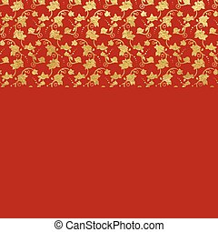 gold foil ornamental background