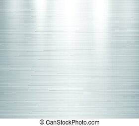 Vector illustration of grey metal, stainless steel texture background