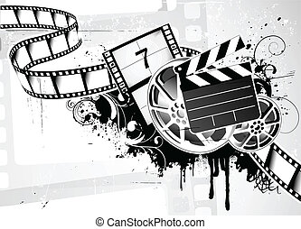 abstract Background - Vector illustration of grunge abstract...